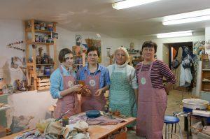 Места силы и вдохновения гончарная мастерская |  Блог без правок