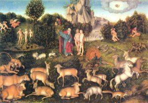 Сказки, мифы, символы и суеверия Лукас Кранах Старший Рай | Блог без правок