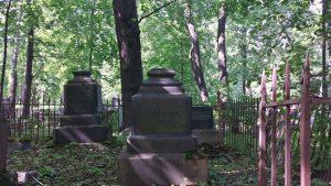 Петербург. Смоленское лютеранское кладбище