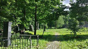 Лютеранское кладбище в Петербурге