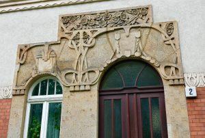Фасады в стиле модерн, Эрфурт