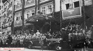 Веймар. Отель Элефант во время войны