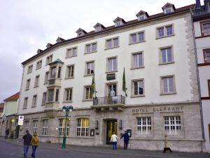 Веймар. Отель Элефант в наши дни