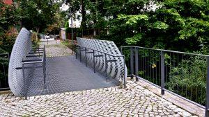 Эрфурт. Мост через речку