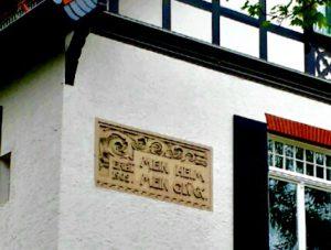 Эрфурт. Фасады особняков