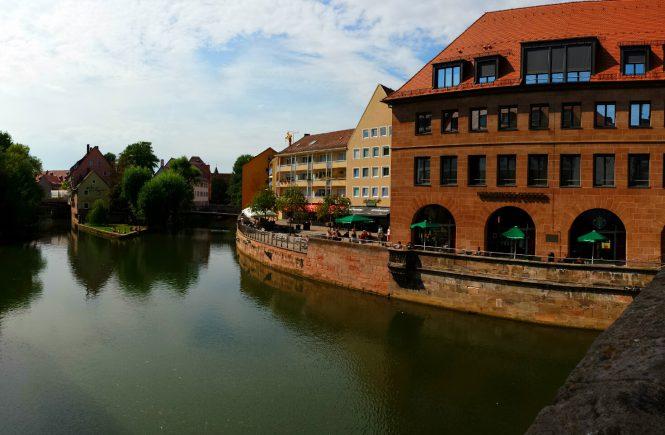 Нюрнберг. Вид с моста