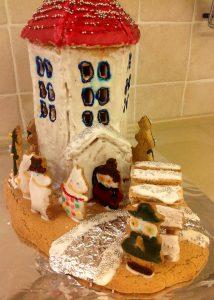 муми-тролли пряничный дом