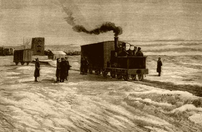 История железной дороги между Петербургом и Москвой