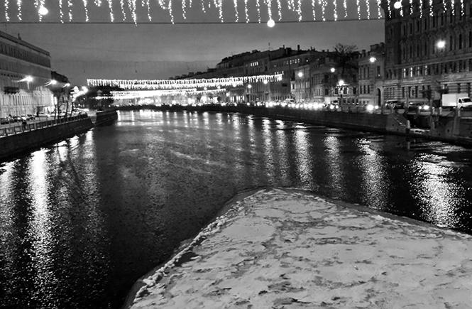 зима на Фонтанке