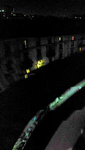 Смазанная ночная панорама