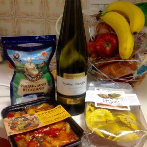 Еда из миланского супермаркета