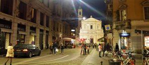 В районе Порта Венеция, Милан