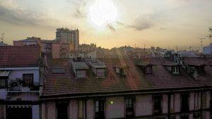 Утренние крыши Милана
