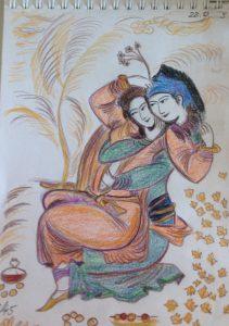 Персидские влюбленные, копия