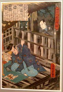 Японская ксилография. Эрмитаж