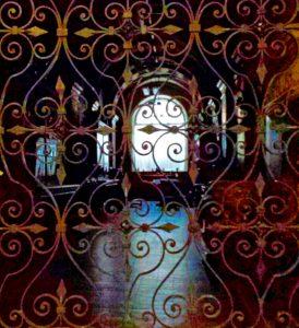 Кованая решётка в особняке Штиглица
