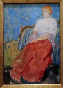 Рауль Дюфи. Портрет сестры художника