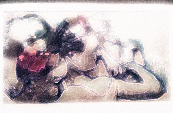 танцовщицы Дега, фрагмент