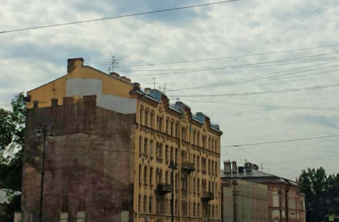 Сносят дома на Лиговке