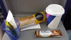 Платный завтрак на борту компании Wizzair