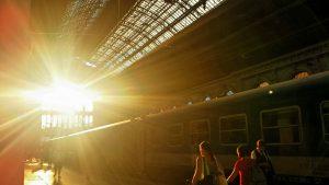 Вокзал Келети. Будапешт