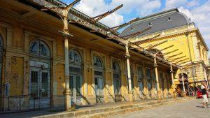 Вокзал Келети, Будапешт. Ремонт