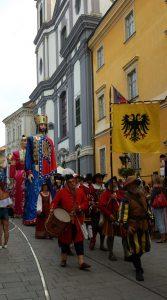 исторический карнавал в Секешфехерваре