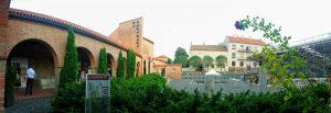 Сад камней. Руины базилики в Секешфехерваре