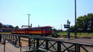 Вокзал в городе Тапольца, Венгрия