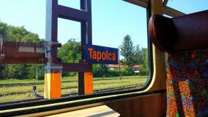 В поезде Тапольца-Кестхей