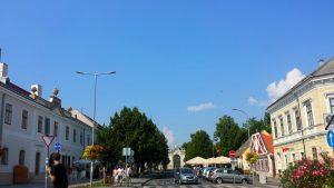 Кестхей, главная улица