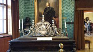 Музей Ференца Листа. Интерьеры с роялем и парадным портретом