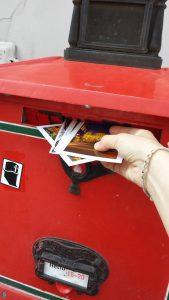 Будапешт. Почтовый ящик. Открытки