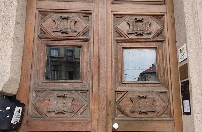 Будапешт. Улица Андраши. Фасад дома