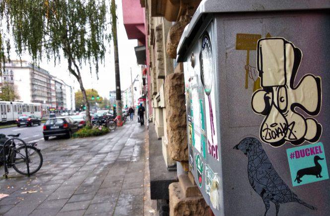 На улице Кельна. Уткотакса | Блог без правок