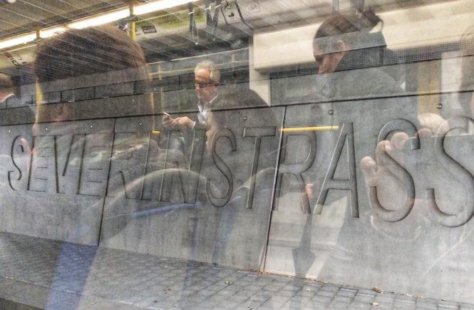 Остановка трамвая Severinstrasse | Блог без правок