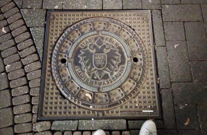 Люк канализации в Кельне | Блог без правок
