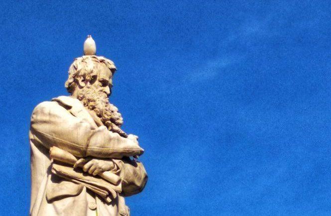 Венеция. Памятник Никколо Томмазео