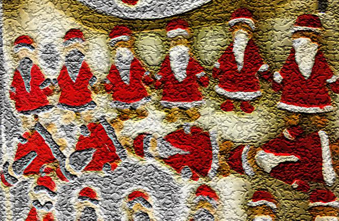 Пряничные Дед-морозы