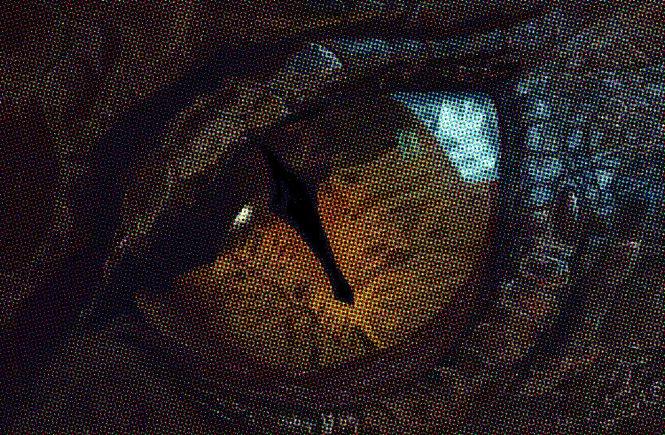 глаз дракона Смауга
