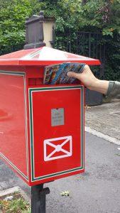 почтовый ящик в Венгрии