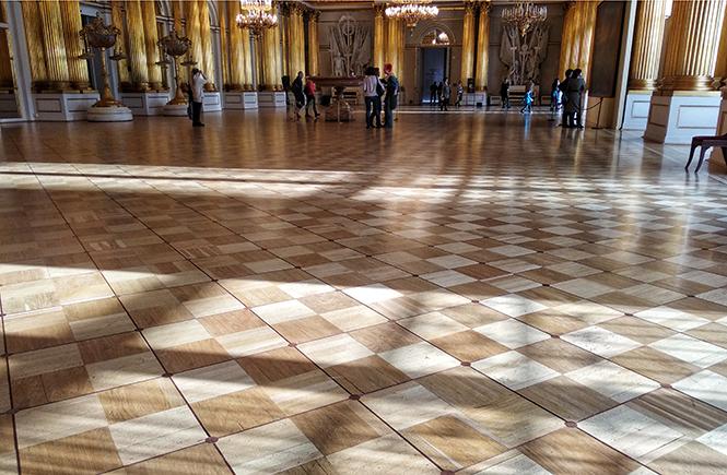 Начало весны рисовать Петербург. Гербовый зал Эрмитажа | Блог без правок